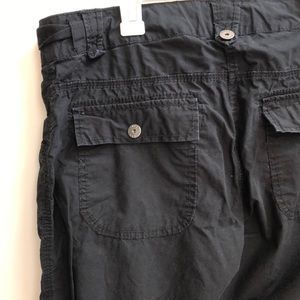 H&M L.O.G.G cargo pants size 10
